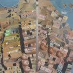"""""""Kabul"""" Olio su lino, cm 60x83, 2017 - 5.000 €"""