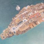 """""""Sea Gull"""" Olio su juta, cm 50x60, 2016 - 1.800 €"""