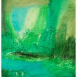 """""""Rito di protezione"""" Pastelli ad olio su tela, cm 125x185, 2007"""