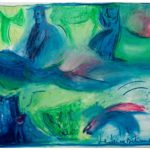 """Ciao"" Pastelli ad olio su tela, cm 120x96, 2009"