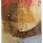 """""""Madre"""" Pastelli ad olio su tela, cm 125x185, 2007"""