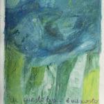 """""""In questo bosco è nascosto il mio amore"""" Pastelli ad olio e acrilici su tela, cm 165x208, 2013"""