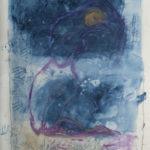"""""""Mi devi rassicurare"""" Pastelli ad olio e acrilici su tela, cm 140x205, 2014"""