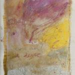 """""""La luce te la devi cercare"""" Pastelli ad olio e acrilici su tela, cm 132x200, 2014"""