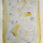 """""""Anime perse"""" Pastelli ad olio e acrilici su tela, cm 130x198, 2014"""