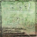 """""""Agli Armeni di Gerusalemme"""" Pastelli ad olio su tela, cm 97x100, 2007"""