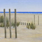 """""""Un mare lontano"""", olio su tela, cm 50x60, 2006 1.100 €"""