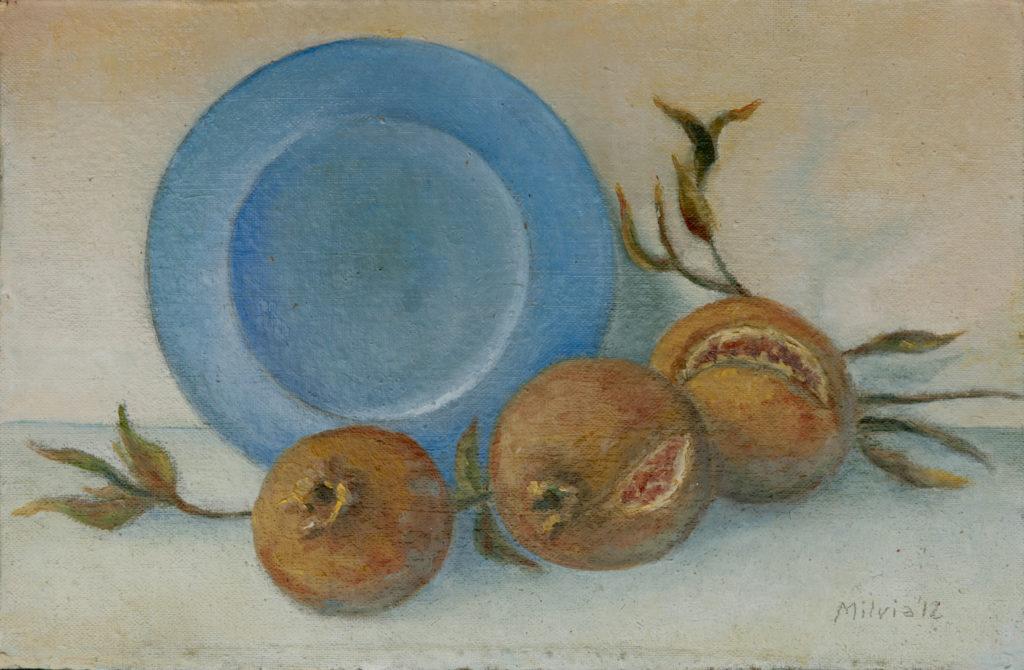 05 - il piatto azzurro - 19x29- 2012