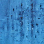 """Geometrie di riflessi"", olio su tela, cm 100x100, 2016 1.800 €"