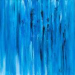 """""""Divenire"""", olio su tela, cm 100x100, 2017 1.800 €"""