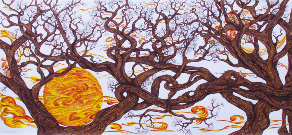 12. La culla del sole, 150x70 (2016)