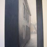 """""""Aspettando il Sole"""", tecnica mista, acrilico  su tavola, cm 45x63, 2017 600 €"""