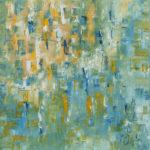 """Uno sguardo al passato"", olio su tela, cm 100x100, 2016 1.800 €"
