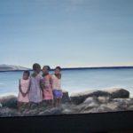 """""""Rifiuti e rifiutati"""", tecnica mista, acrilico su tavola, cm 50x38, 2017 550 €"""