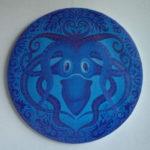 """Poulpe octopus"", acryl, cm 70, 2013 1.700 €"