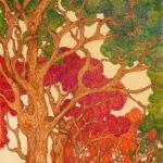 """""""Il sentiero"""", inchiostri, cm 60x120, 2014"""