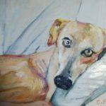 """""""Sopra il divano"""", olio su pannellollo telato cartone, cm 20x30, 2015700 €"""