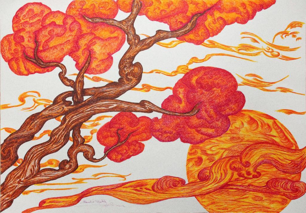 29. Un ramo nel cuore, 50x70 (2015)