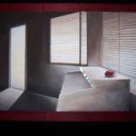 """""""L'ultima stanza"""", tecnica mista, acrilico su tavola, cm 90x60, 2013 900 €"""