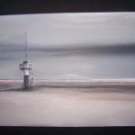 """""""Faro"""", tecnica mista, acrilico su tavola, cm 60x43, 2013 450 €"""