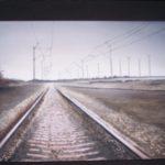 """""""Il viaggio"""", tecnica mista, acrilico su tavola, cm 65x76, 2014 550 €"""