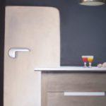 """Frigorifero"", tecnica mista, acrilico su tavola, cm 65x76, 2015 700 €"