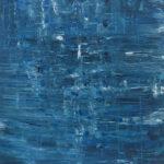 """""""Mare. L'emozione di un ricordo"""", olio su tela, cm 100x100, 2016 2.000 €"""