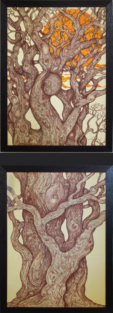 9. Un grande albero, 70x200 (2016)