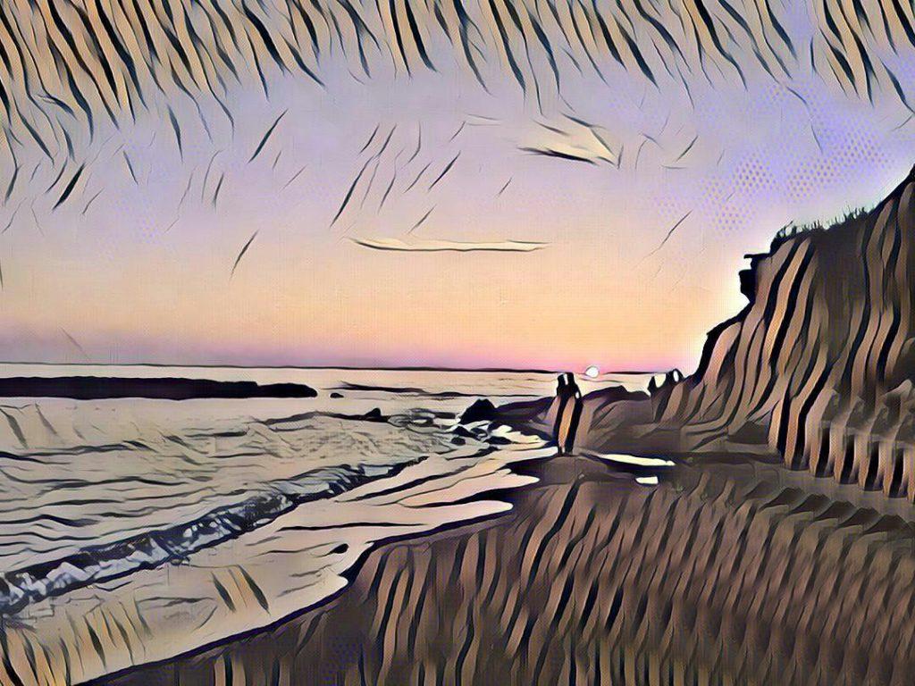 Anime al tramonto