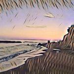 """Anime al tramonto"", fotografia digitale naturale + effetto Pop Art, cm 20x30, 30x40, 40x50, 50x70, 2017"