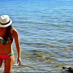"""Bikini colors"", fotografia digitale ambientale-personale, cm 20x30, 30x40, 40x50, 50x70, 2017"