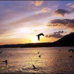 """""""Garda Red Sunset"""", fotografia digitale ambientale, cm 20x30, 30x40, 40x50, 50x70, 2015"""