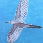 """My Heron"", fotografia naturale, animale digitale, acrilico su tela,  naturale floreale, cm 20x30, 30x40, 40x50, 50x70, 2016"