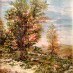 """""""Paesaggio. Un'estate a Bore"""", olio su tavola, cm 35x50 1.500 €"""