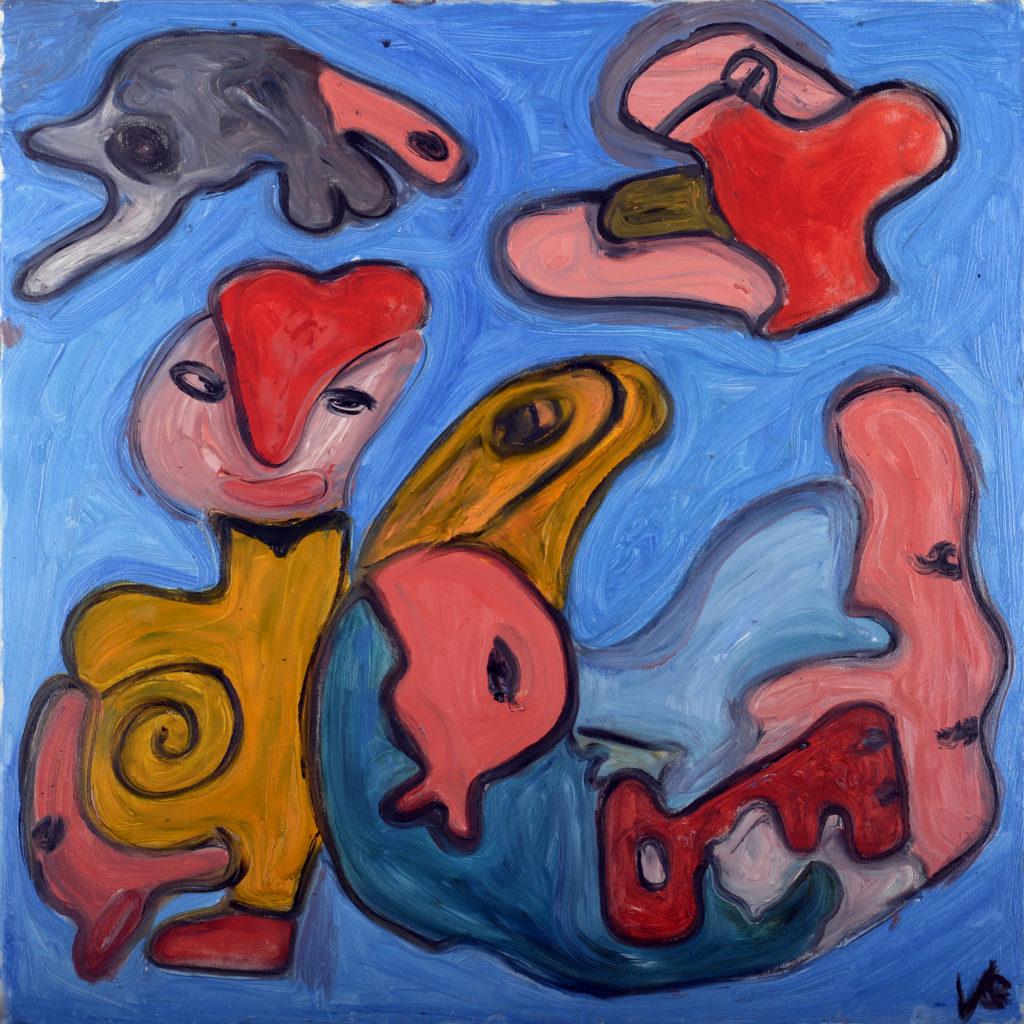 Valentina Luce, olio su tela, cm 70x70, 2016 1.000 €