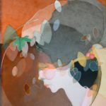 """""""Una strana primavera"""", acrilico su tela, cm 120x80, 2017   1.500 €"""