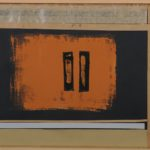 'Koinè diàlektòs', collage, tempera su carta su masonite, cm 30x40, 2013