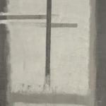 'Nihil durare tempore perpetuo...', dittico, tempera, ossidi su tela, cm 60x119 (cad.), 2008