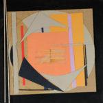 'Omaggio a Kandinskji 1', tecnica mista su masonite, collage, cm 50x50 (cad.), 2013
