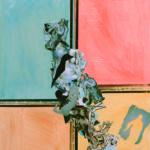 'From Paradise To Paradise', tecnica mista su tela, cm 70x80   € 4.100