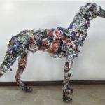 'Simurg', Plasticone, cm 95x100x45, 2017   €2.900
