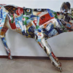 'Vitello', Plasticone, cm 130x95x55, 2017   € 4.250