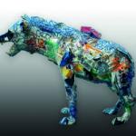 'Iena madre', Plasticone polimaterico, cm 95x105x45 ca., 2004   € 2.950