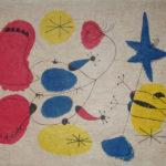 Joan Miró 'Composizione' tecnica mista su carta, 1972