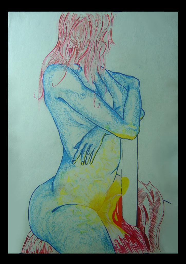 19 - Nudo di donna B28