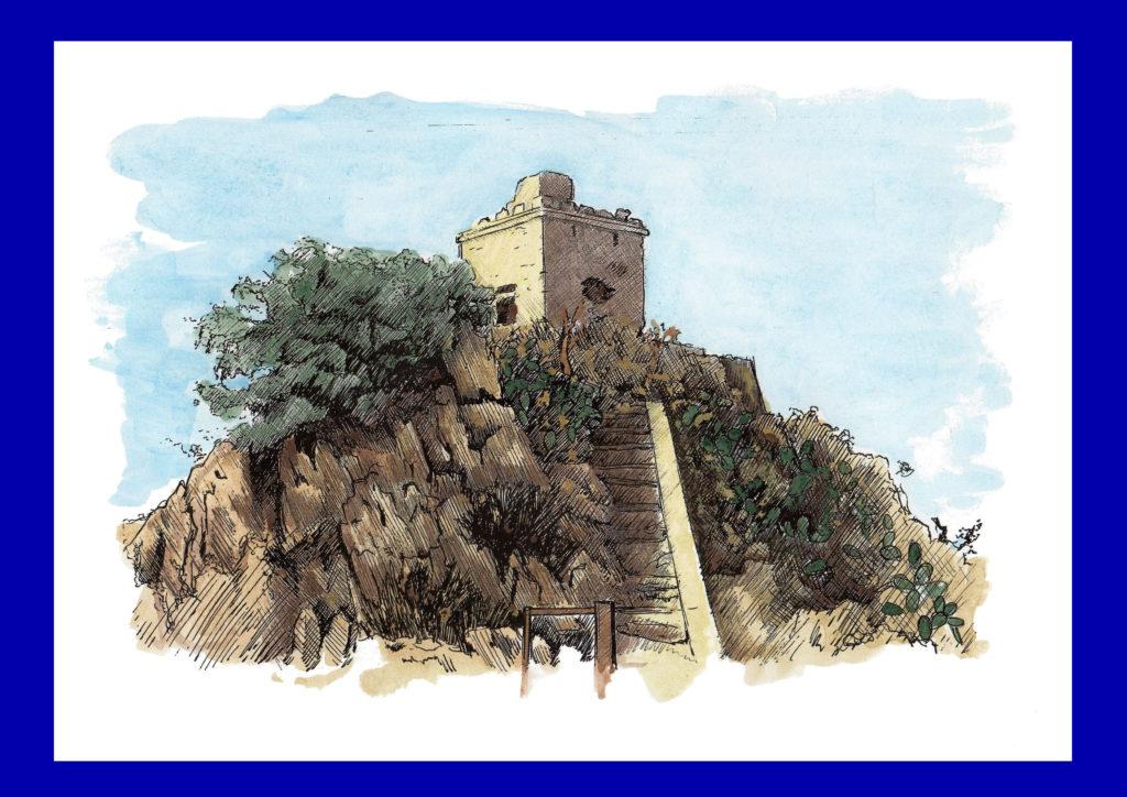 22 - Torre arabo-normanna presso Trabia (Palermo-Sicilia)