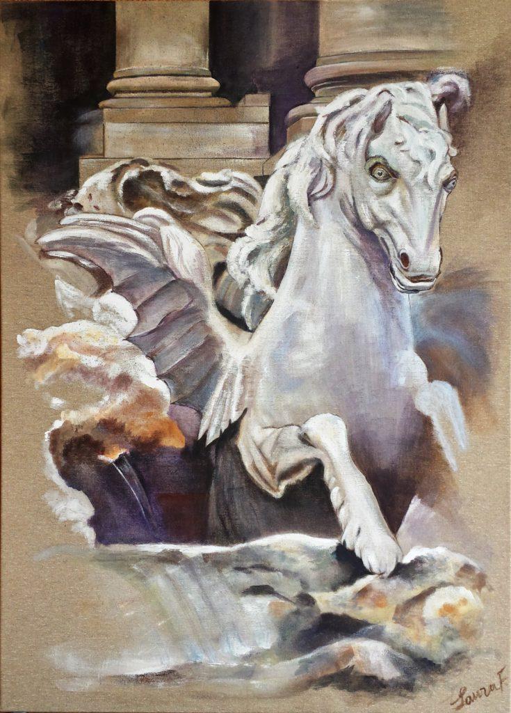 Cavallo di Trevi (64,5x90)