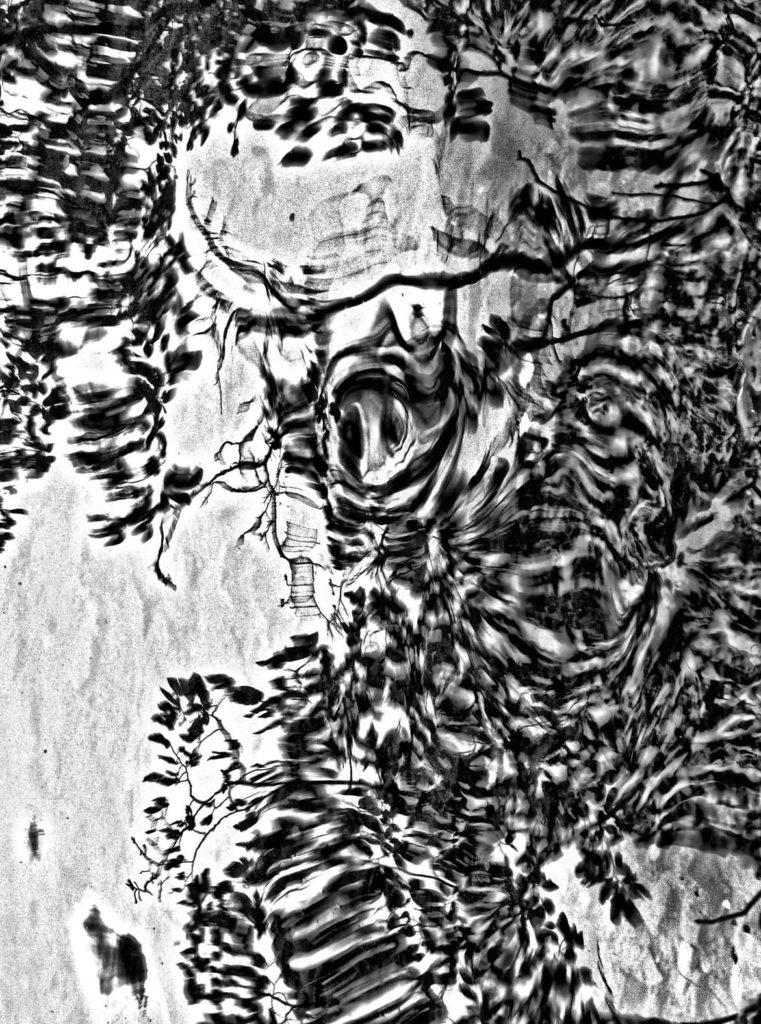 Le figure dell'ansia 2013 . opera fotografica ai sali d'argento cm. 70 x 100