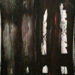 ARCAICO tecnica mista su tela  Corretto:  13.   Arcaico cm 45 x 60 anno 2016 €1000